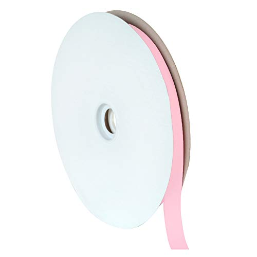 Offray Light Pink Grosgrain Ribbon - Berwick Offray 5/8