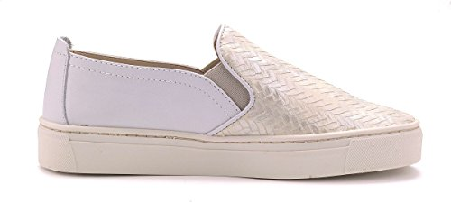 Bianco Scarpa Sneak on Donna The Name Perla Slip FLEXX wSftqH0