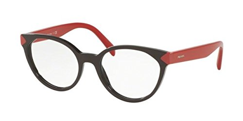 Prada PR01TV Eyeglass Frames DHO1O1-53 - Brown - Prada Glass Eye