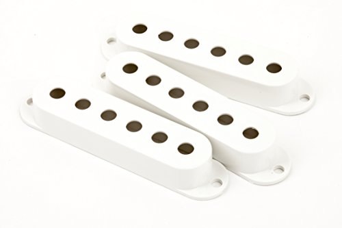 (Fender Pickup Covers, Stratocaster - White)