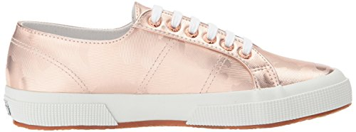 Superga Womens 2750 Army Chromw Sneaker Roségoud