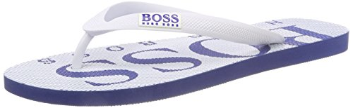 digital Thng in Hugo Boss Wave Mens Flops Flip White I7fHHv