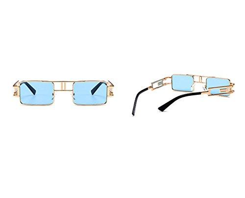 soleil Twin gothique style Beams lunettes polarisées Vintage petites C5 carrées classique non Steampunk de 4t68qPq
