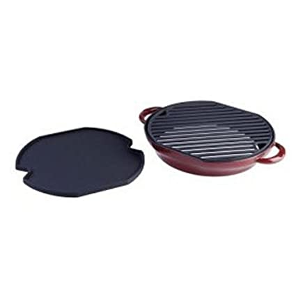 Rick Bayless Pepper Roaster Griddle, Salsa