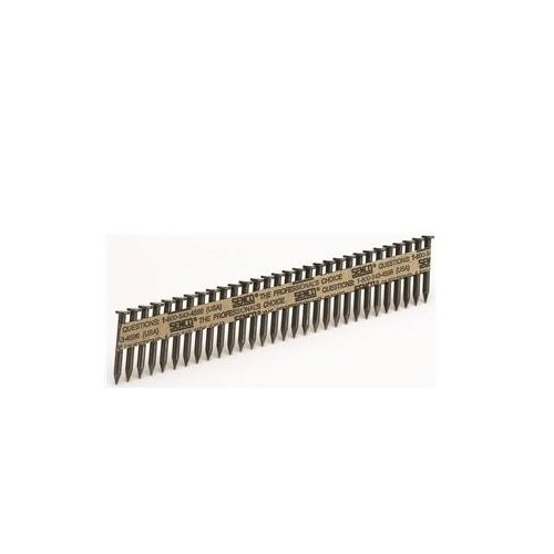 Senco ORGL76591 Heat Treated Metal Connector Nail, 0.148 in x 2-1/2 in, 34 deg, Steel