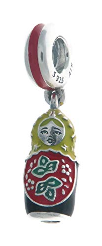 - Pandora Matryoshka Doll Dangle Silver One Size Charm 797834ENMX
