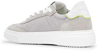 Philippe Model Luxury Fashion Homme BDLURX04 Gris Tissu Baskets | Printemps-été 20