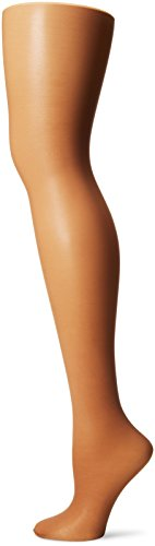 L'eggs Women's Sheer Energy 2 Pair Control Top Sheer Toe Medium Support Panty Hose, Suntan, Queen +