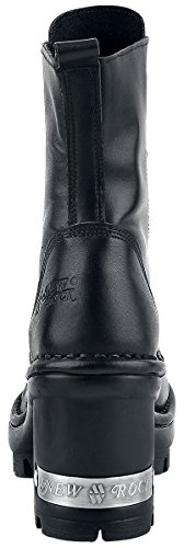 New Rock Womens M.NEOTYRE07X-S1 Leather Boots Nero