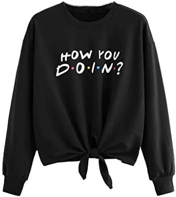 NOMUSING Fashion Women Casual Long Sleeve Hooded Sweatshirt Hoodie Letter Print Loose Pullover Top Blouse Outerwear