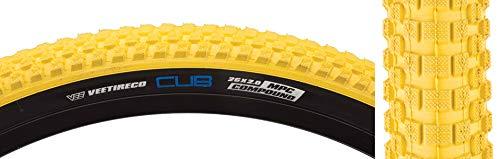 SE Racing Yellow Black Cub Replacement Custom BMX Bicycle Bike Wire Bead Tire 26 x 2.0