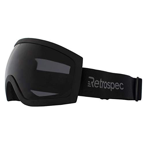 Retrospec Traverse G1 Ski, Snowboard, and Snowmobile Goggles