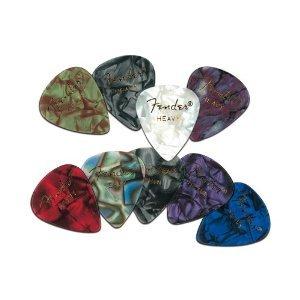 guitar picks fender heavy - 1