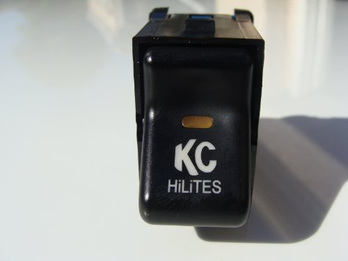 Jeep TJ Wrangler 1997-2006 KC HiLiter Rocker Switch fits like OEM Rocker Switch Easy Install Instruction Included