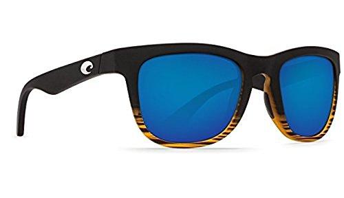 Costa Copra Sunglasses Matte Coconut Fade Blue Mirror
