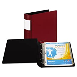 DXL Heavy-Duty Locking D-Ring Binder With Label Holder, 2\