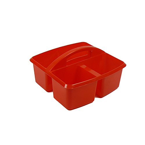 ROMANOFF PRODUCTS SMALL UTILITY CADDY RED (Set of 24) by Romanoff