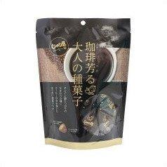 じゃり豆コーヒー味(珈琲芳る大人の種菓子) 80g×10袋