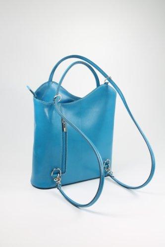 """Belli® Italiana. Piel Bolso """"Belli Backpack Selección de Colores de piel, también en la espalda portátil–"""