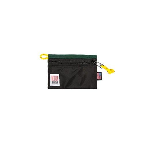 Topo Designs Accessory Bags - Black/Forest - Micro by Topo Designs