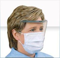 Alpha Protech Incorp. 5194-E mask Surg With Pad Eye Shield 25x4/Ca by Alpha Protech Incorp.