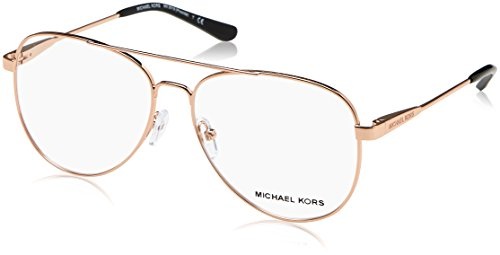 Michael Kors Eyeglasses Procida MK3019 MK/3019 1116 Rose Gold Optical Frame 56mm (Glasses Frames Michael Kors)