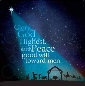 Christian Christmas Greetings.Christian Christmas Card Pack Of 10 Starlight Cm112 With Luke 2 14 Web Bible Verse Inside By Just Cards Direct