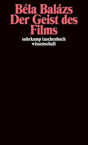 der-geist-des-films-suhrkamp-taschenbuch-wissenschaft