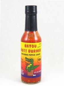 Price comparison product image Bayou Butt Burner Louisiana Pepper Hot Sauce, 5 fl oz