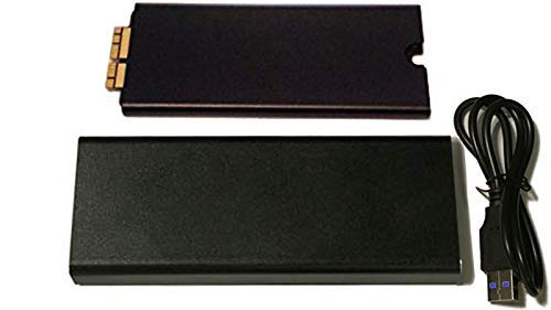 MCE Technologies 2TB SSD for Mac Pro (Late 2013): PCIe-Based 4 Lane (x4) NVMe SSD Flash Storage Upgrade - Requires macOS 10.13.x (High Sierra) and Later. Includes USB 3.0 Enclosure for Original SSD!