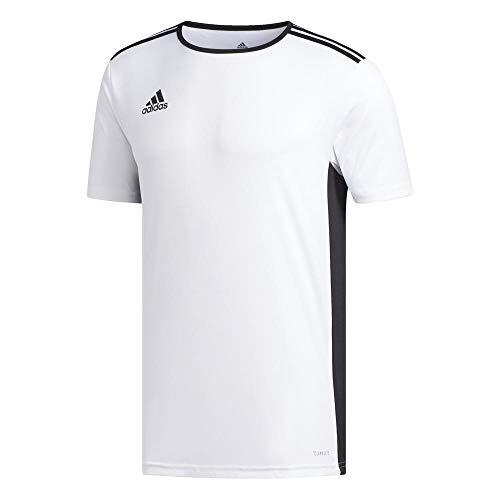 black T white Entrada 18 Adidas Uomo Bianco shirt qT6xwFa