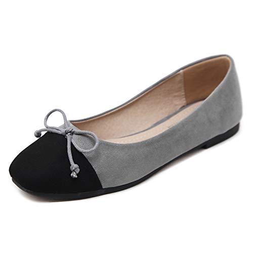 UE Maternidad 42 Arco de Zapatos Oficina Casuales Planos de Boca de FLYRCX de Zapatos Zapatos Zapatos Damas Dulce EU de Trabajo Antideslizantes Baja La Moda 36 x1nCwXCgBq