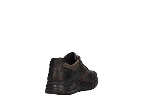 Scarpe IGI&CO antracite nero pelle allacciata fondo gomma, nuova collezione autunno inverno 2017/2018 Anthrazit
