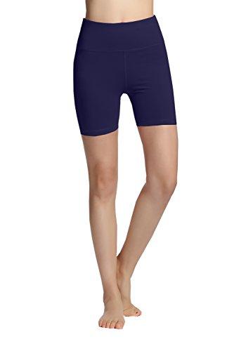 donna NAVYBLUE Da Allenarsi esecuzione In Flettere Pantaloncini Yoga Yoga Pantaloncini Energia Harem 0EqP5xwn