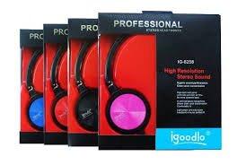 Buy igoodlo IG-8258 HEADPHONES (BLACK) Online at Low Prices in India ... 31f0b2c6f7606
