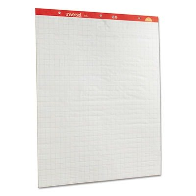 Avery(R) Conference Room Easel Pads, 27 x 34, White Paper With 1 Squares, Box Of 2 Pads by Avery