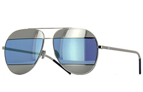 Dior Split Sunglasses 59 mm Silver / Aqua - Sunglasses Split Dior