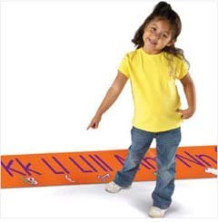 Spanish Alphabet Line - Learning Resources LER0398 Step-By-Step Spanish Alphabet Floormat