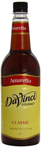 DaVinci Gourmet Classic Amaretto Syrup Pet, 1er Pack (1 x 1 l)
