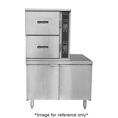 Crown SCX-2 Steam Coil Convection Steamer with Two Compartments, (6) 12
