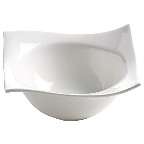 Maxwell and Williams Basics Motion Square Bowl, 5.5-Inch, (Fitz And Floyd Square Bowls)