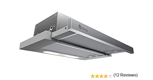 BALAY Campana 3BT263MX Extraible 60CMTS INOX E, Acero Inoxidable: Amazon.es: Grandes electrodomésticos