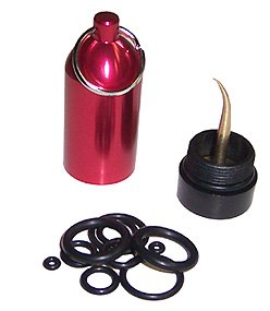 Scuba Diving Tank O-Ring Dive Kit Keychain with Pick