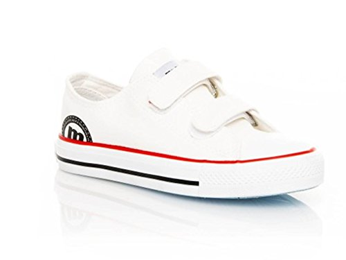 MTNG 20639 – Sneaker Kinder Unisex Canvas Junior Weiß