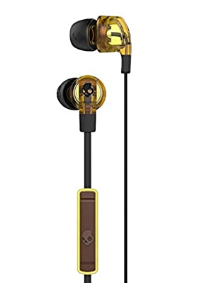 Skullcandy Smokin Buds 2 with Mic Earphones/Earbuds Stereo Headphone - Tortoise/Black