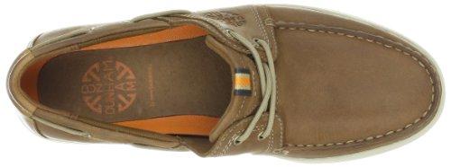Dunham Hombres Chace Boat Shoe Tan