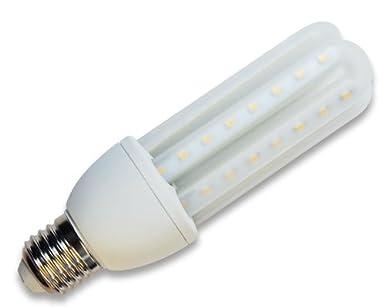 Aigostar Bombilla LED T3 3U de 9W, Rosca Grande y luz fría E27: Amazon.es: Iluminación