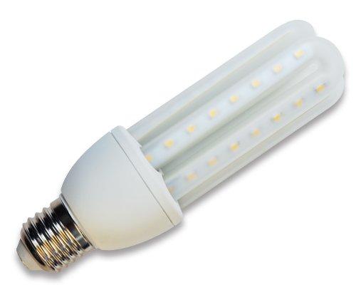 Aigostar Bombilla LED T3 2U de 8W, Rosca Grande y luz cálida E27: Amazon.es: Iluminación