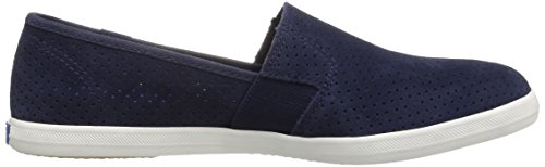 Keds Womens Chillax A-Line Perf Suede Fashion Sneaker Peacoat Navy LcSPE9