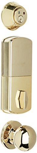 MiLocks WFK-02P Digital Deadbolt Door Lock and Passage Knob Combo with...